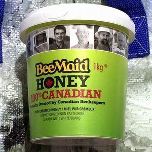 BEEMAID HONEY 100%カナディアン ピュアクリームハニー