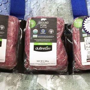 オーガニック豚挽肉 カナダ産(冷凍)