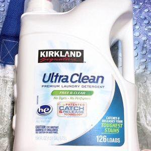 カークランド ウルトラクリーン 液体洗濯洗剤 無香料