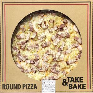 カークランド テイクベイク 丸型ピザ スモークベーコン&ポテト