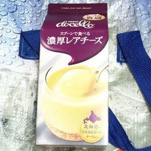 Nestle docello ネスレ ドチェロ スプーンで食べる濃厚レアチーズ