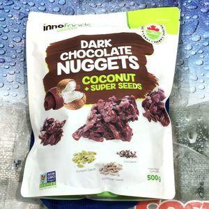 イノスペシャリティーフーズ ダークチョコレートナゲッツ ココナッツ+スーパーシード