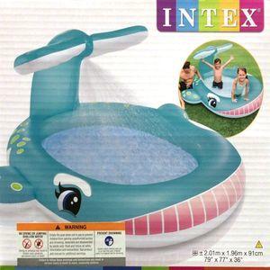 INTEX ホエールスプレープール
