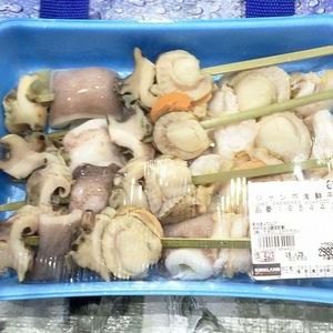 カークランド ジャンボ海鮮串