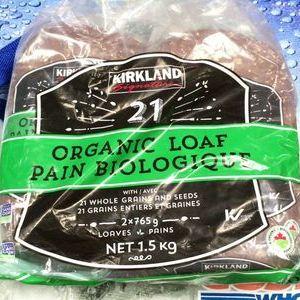 カークランド 21穀オーガニックブレッド