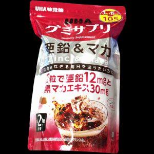UHA味覚糖 グミサプリ 亜鉛&マカ