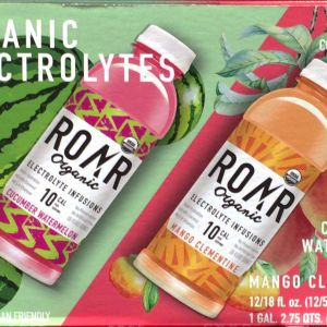 ROAR ロアー オーガニック エレクトロライツ  インフュージョン (ココナッツ飲料)