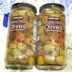 カークランド スパニッシュ クイーン オリーブ Spanish Queen Olives