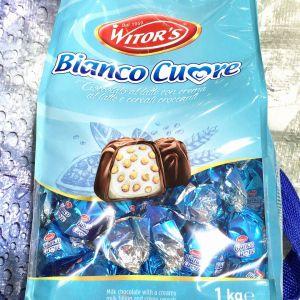 Witor's ウィターズ ミルクチョコレートプラリネ ビアンコクオレ