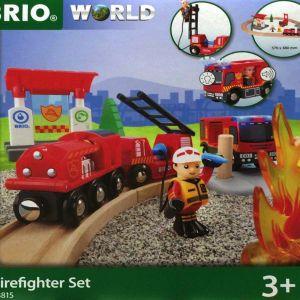 BRIO WORLD ファイヤーレスキューセット 33817