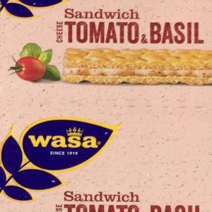 WASA ヴァーサ サンドイッチ チーズ トマト&バジル