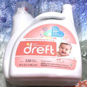 ドレフト 赤ちゃん衣料向け洗濯洗剤