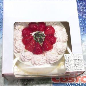 カークランド ホリデーシフォンケーキ(クリスマスケーキ2019)