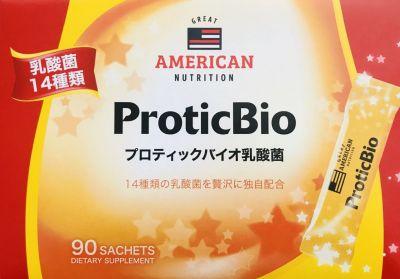 GREAT AMERICAN NUTRITION プロティックバイオ乳酸菌