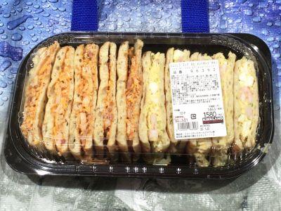 カークランド シュリンプエッグ&ピメントチーズチキン