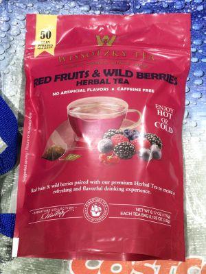 Wissotzky Tea ヴィソツキーティー レッドフルーツ&ワイルドベリー