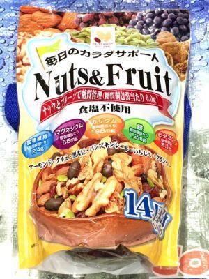 ハース 毎日のカラダサポート NUTS&FRUIT ナッツ&フルーツ