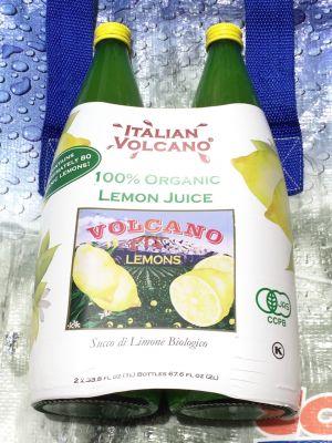 ITALIAN VOLCANO イタリアンボルケーノ オーガニックレモンジュース