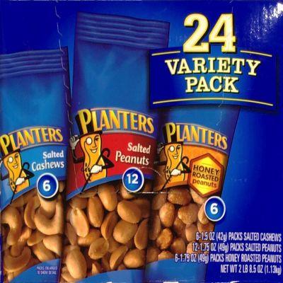 ハインツ プランターズ バラエティパック Planters Variety 24-Count