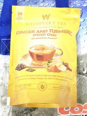 Wissotzky Tea ヴィソツキーティー ジンジャー&ターメリックチャイ