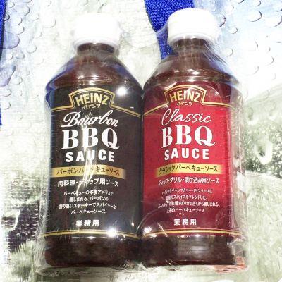 ハインツ BBQソース 2種 クラシック、バーボン