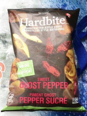 (名無し)さん[2]が投稿したHARDBITE ハードバイト アボカドオイルスウィートゴーストペッパーチップスの写真