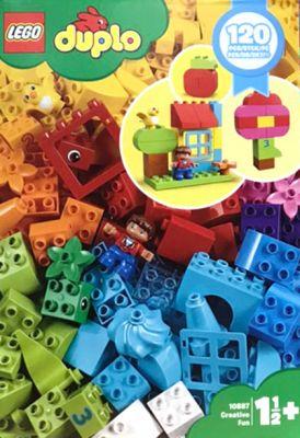 レゴ LEGO デュプロ のいろいろアイデアボックス #10887