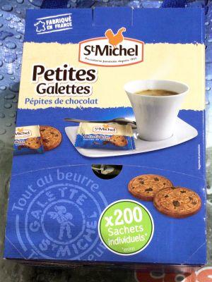 (名無し)さん[4]が投稿した St Michel サンミッシェル グランドガレット/プチガレット チョコチップ/プチガレット キャラメルの写真