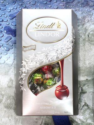 リンツ リンドール トリュフチョコレート シルバーアソート
