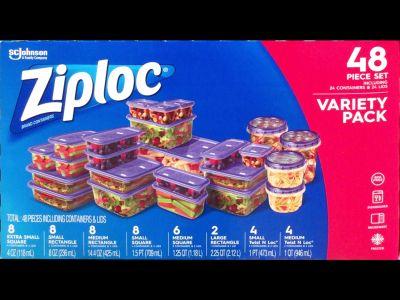 ジップロック(Ziploc) バラエティパック コンテナー