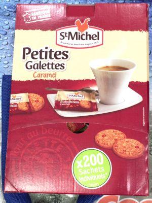 (名無し)さん[10]が投稿した St Michel サンミッシェル グランドガレット/プチガレット チョコチップ/プチガレット キャラメルの写真