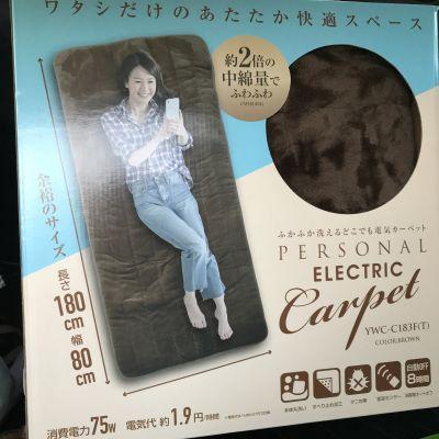 YAMAZEN 洗える電気カーペット