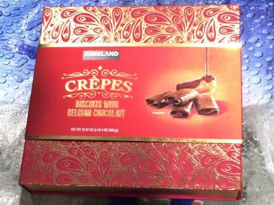 カークランド チョコレートクレープ