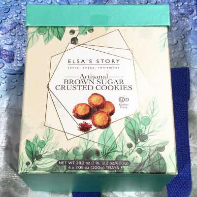 ELSAS STORY エルザスストーリー ブランシュガークラストクッキー