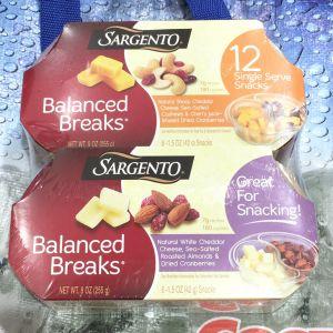 SARGENTO サージェント バランスブレーク チーズ・フルーツ・ナッツ スナック