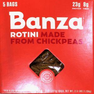 BANZA ひよこ豆パスタ(ロティーニ)