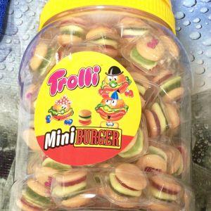 TROLLI ミニハンバーガーグミ