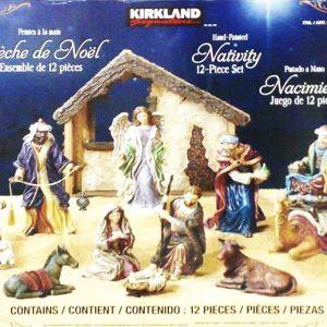 カークランド ネイティビティセット キリスト誕生シーン