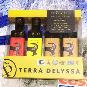 TERRA DELYSSA テラデリッサ オーガニックエキストラバージンオリーブオイル 3種アソート