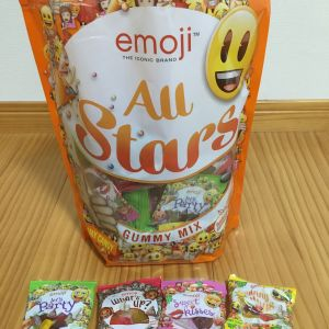 絵文字グミ emoji all stars gummy mix
