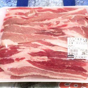 カークランド チルド豚肉三元豚バラ焼肉