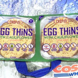 crepini 平飼い卵とカリフラワーパウダーのクレープ(小麦粉不使用)