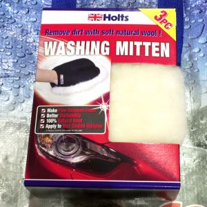 HOLTS 洗車用ムートンミトン