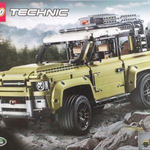 LEGO レゴ テクニック ランドローバー ディフェンダー