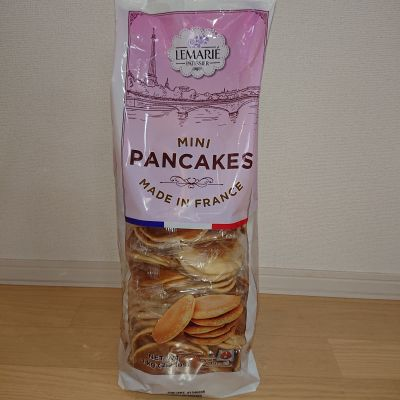 Lemarie Patissier フレンチミニパンケーキ 1袋2枚入 X 25袋 約1㎏