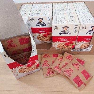 (名無し)さん[4]が投稿したクエーカー  インスタントオートミール  レギュラー 12箱セットの写真
