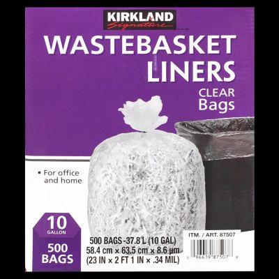 カークランド ゴミ袋 Office&home Wastebasket liners 10gallon