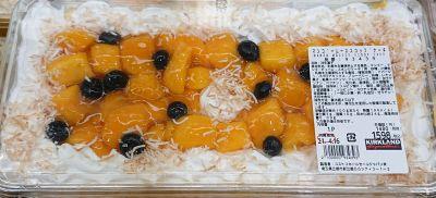 (名無し)さん[12]が投稿したカークランド マンゴースコップケーキの写真