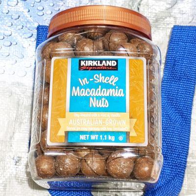 カークランド 殻付きマカダミアナッツ