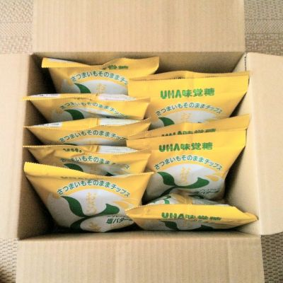 (名無し)さん[11]が投稿したUHA味覚糖 おさつどきっプレミアム塩バター味の写真